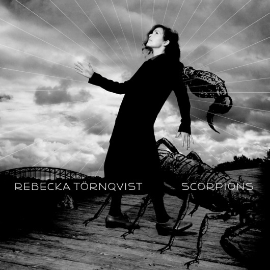 HFDP - Rebecka Törnqvist Scorpions #white #scorpions #black #cover #and #music #collage #cd