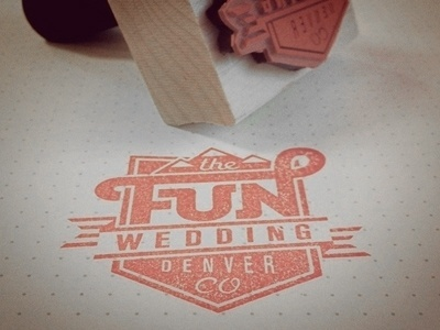 Dribbble - Stampin by Mackey Saturday #logo #stamp