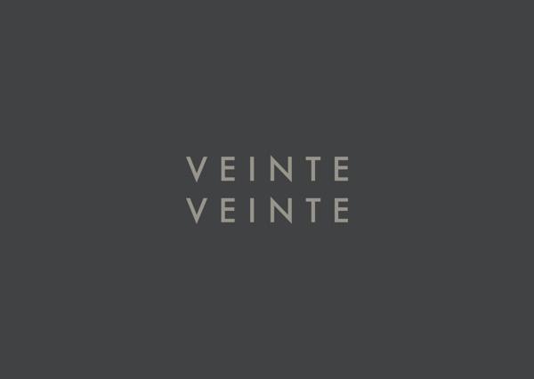 VEINTE VEINTE on Behance #logo #identity #branding
