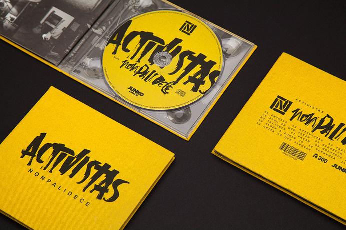 Activistas CD Packaging #lettering #branding #packaging #hand #cd