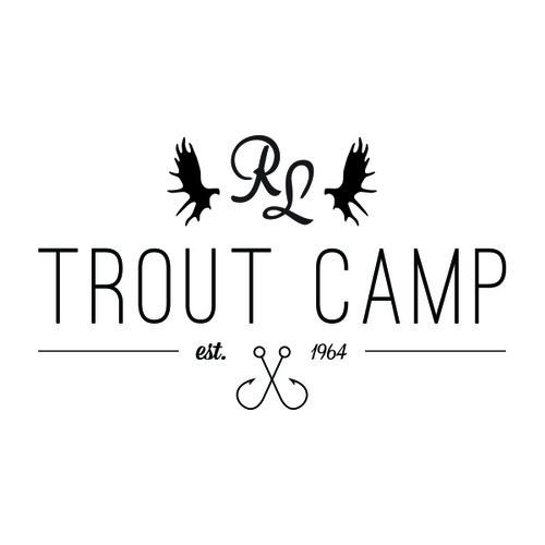 Reindeer Lake Trout Camp #branding #identity #hunting #logo #fishing