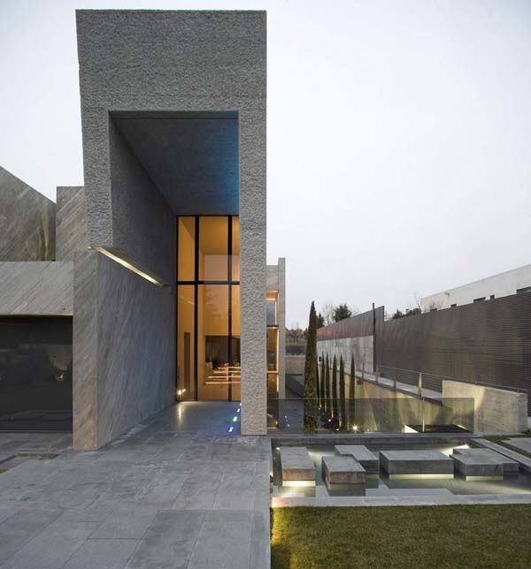 Modern Architecture Open Box House by A-cero