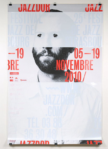 More Jazz in Strasbourg #jazz #france #poster #typography