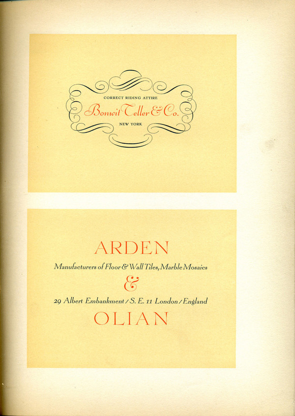 This font specimen shows a mix of type and ornaments designed by Lucian Bernhard. #type #specimen #typography