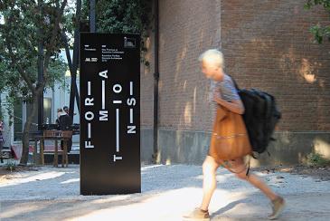 13th Venice Architecture Biennale Exhibition design #sign #environmental #street