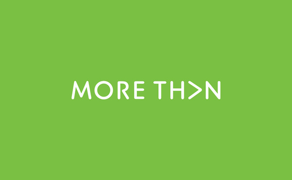 more than more th>n logo design #logo #design