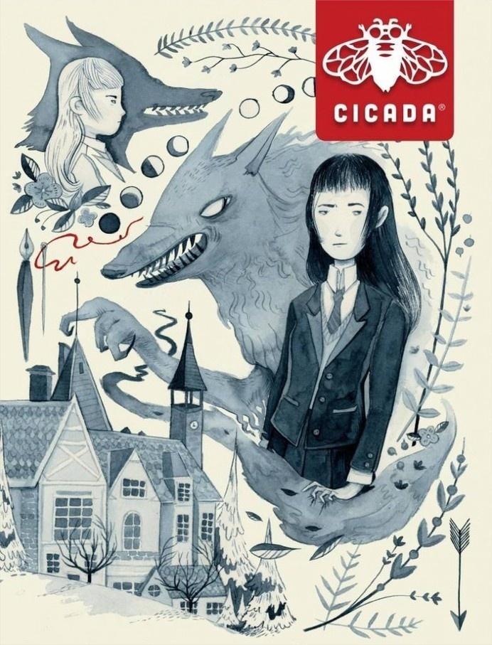 Cicada – Magazines #inspiration #magazine #illustration #wolf