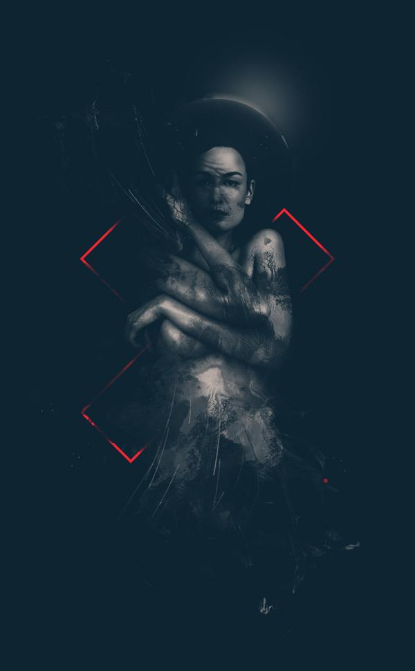 SEVEN #digital #illustration #portrait #giga #seven #art #kobidze #life
