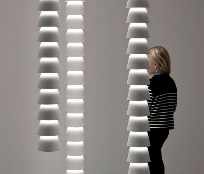 Bell Shaped Modular Lights