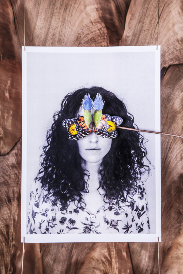 BOO design | portraits on Behance #insect #portrait #mask #collage