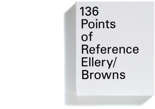 Browns Editions, Jonathan Ellery, 136 Points of Reference #print