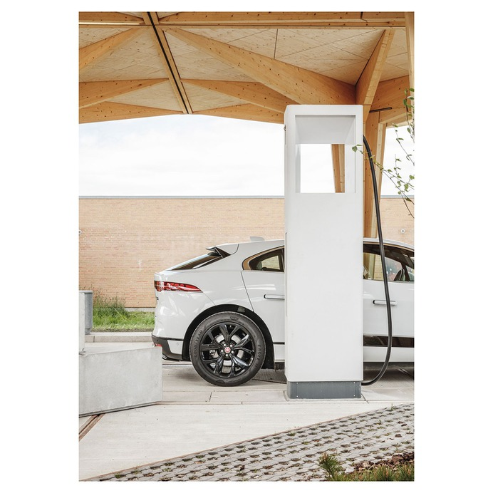 Ultra-Fast Charging Station - Mindsparkle Mag Rasmus Hjortshøj documented Ultra-Fast Charging Station designed by COBE Fredericia, Denmark. #logo #packaging #identity #branding #design #color #photography #graphic #design #gallery #blog #project #mindsparkle #mag #beautiful #portfolio #designer