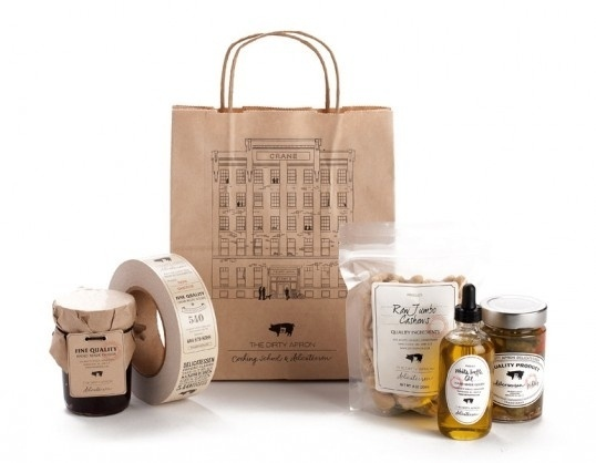 The Dirty Apron Delicatessen | Lovely Package #packaging #dairy #food
