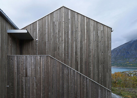 Vega Cottage by Kolman Boye Architects references weathered Norwegian boathouses #design #architecture #house