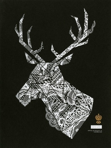 FFFFOUND! | Officeholiday1 #fragments #deer #collage