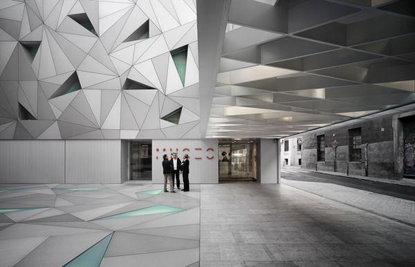 New Museum ABC in Madrid by studio Aranguren & Gallegos #madrid #arts #architecture #museum