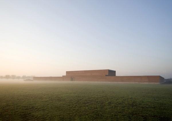 Crematory In Parma / Studio Zermani e Associati #italia #fog #crematory #architecture #minimal #parma