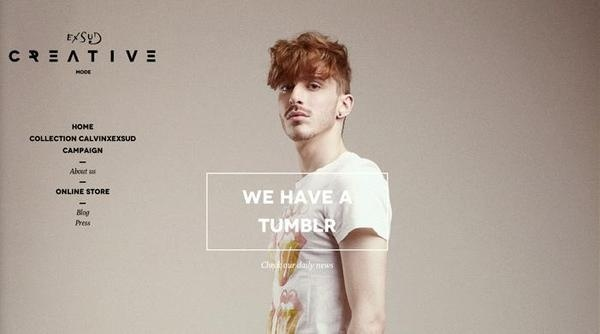 Exsud Creative #hipster #website #like #fashion #web #newwave