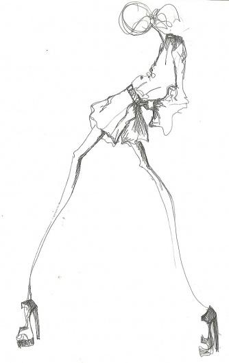illustration 2 | Tibi #fashion #illustration