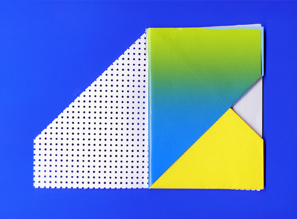 Fold Laura Knoops | Graphic design #fold #notebook #color #colour