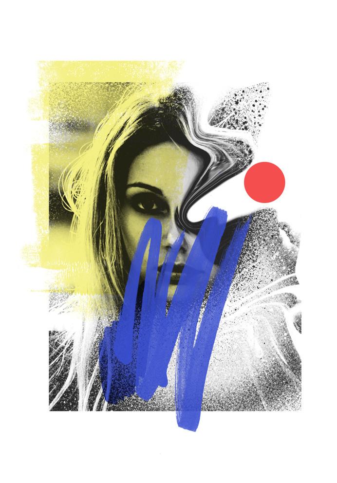 LVRS // INIT- Rosco Flevo #wave #culture #music #new #white #rosco #paint #postartfuckery #face #collage #and #fashion #media #inspiration #flevo #designer #markers #artscumantics #black #art #muse
