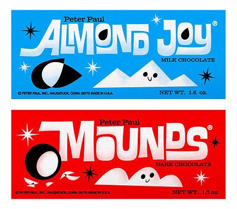 Flickr Photo Download: Sometimes you feel like a nut! Sometimes you don't. #almond #joy #illustration #mounds