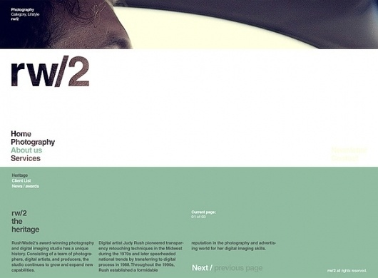rw/2 - interactive design on Web Design Served #ghfghgf