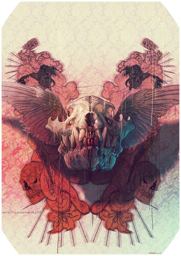 Painting2 #skull #animal
