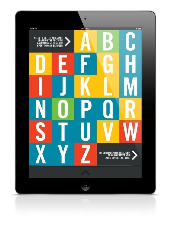 ABC iPad App #children #interactive #colour