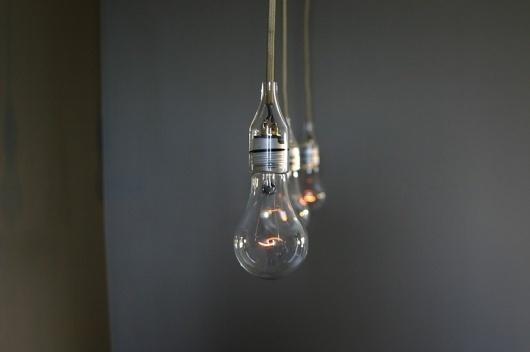 Brendan Ravenhill #glass #lamp #bulb #light