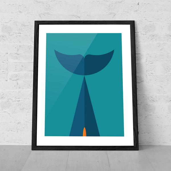 Art of Sport #vector #geometry #dolphin #design #nfl #illustration #poster #miami