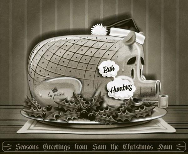 Merry Christmas #christmas #illustration