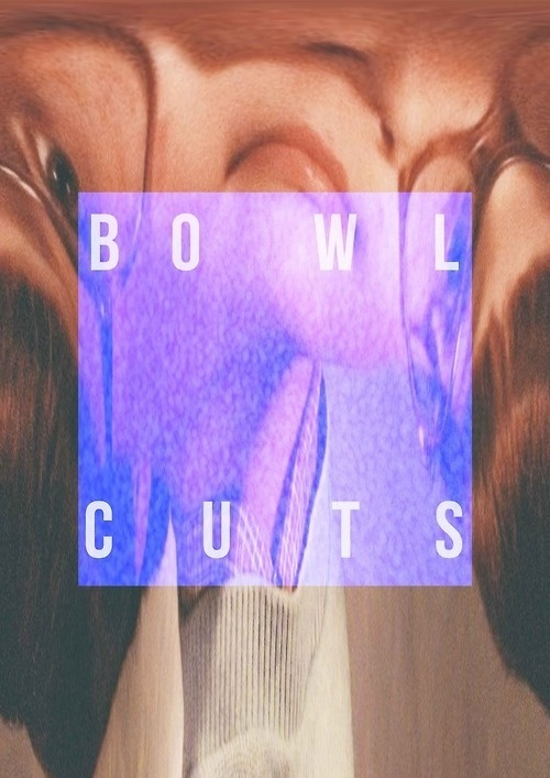 Bowl Cuts #design #typography #poster #fashion #hair #nerd #cuts