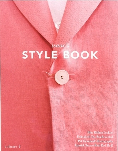 Style Book #tyle #text #pink #book #details #cover #heading #layout #editorial #typography