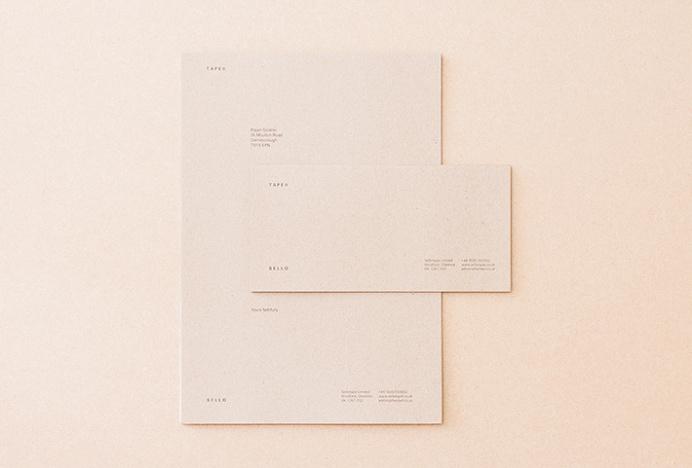 Sellotape by Rajan Solanki #graphic #design #envelope #letterhead