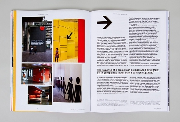 Spin — Print Magazine #type #layout #design #book