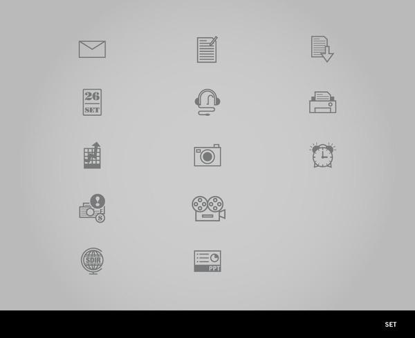 Icon Set. milanononmivuole #icon