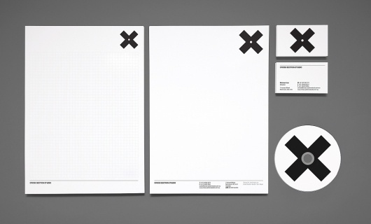 Hunt Studio | Multi-disciplinary design studio | Melbourne — Cross Section Studio Identity #hunt #studio