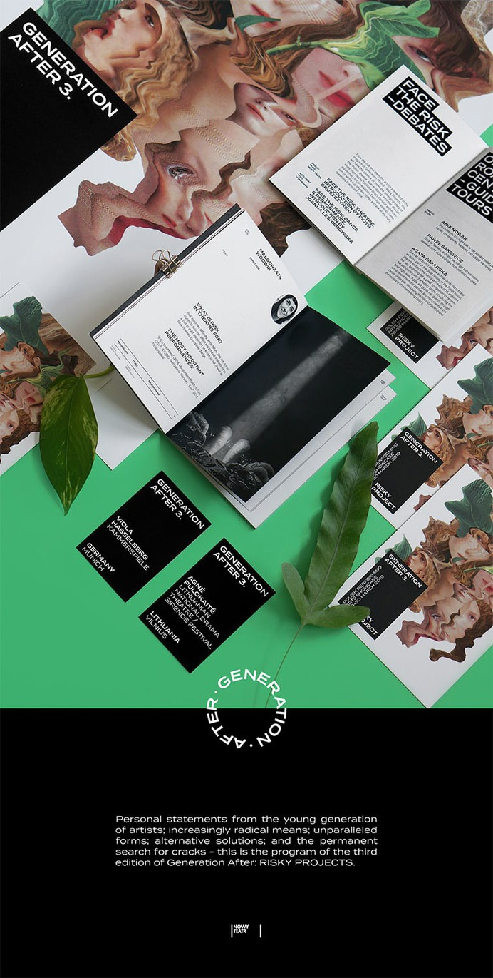 Generation After 3 Identity - Mindsparkle Mag Martyna Wędzicka-Obuchowicz designed Generation After 3 Identity. #logo #packaging #identity #branding #design #color #photography #graphic #design #gallery #blog #project #mindsparkle #mag #beautiful #portfolio #designer