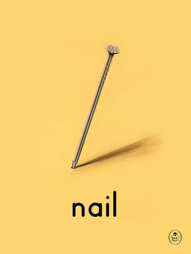 nail Art Print by Ladybird Books Easyart.com #print #design #retro #artprints #vintage #art #bookcover