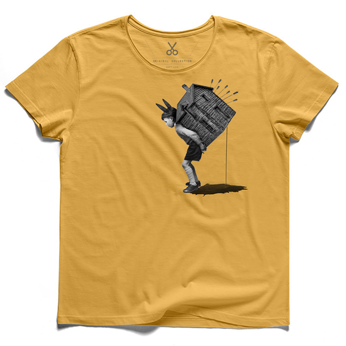 #domo mea#yellow#tee#tshirt#schopenhauer#chaidalis