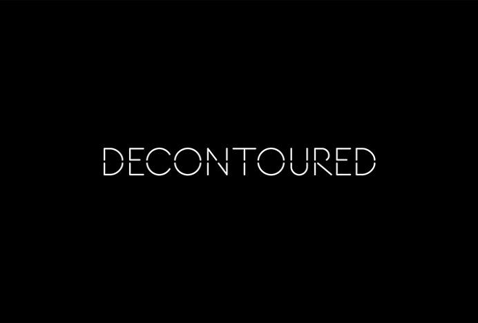 Decontoured by Bunch #logo #logotype #typography