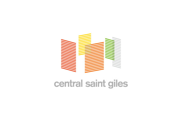 Central Saint Giles | Kevin Macey #mark #logo