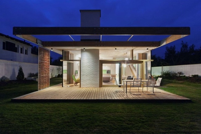 TD House: combination of modernism and rural architecture