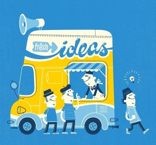 Fresh Ideas | Flickr - Photo Sharing! #illustration