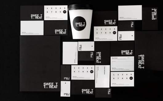 Sweet Treat – den sublime pause | Re-public #branding #tyopography #identity #stationery #logo