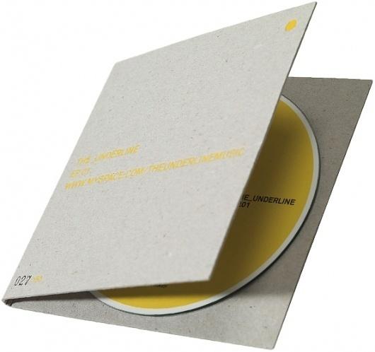 Recycled CD pack / Progress Packaging #minimal