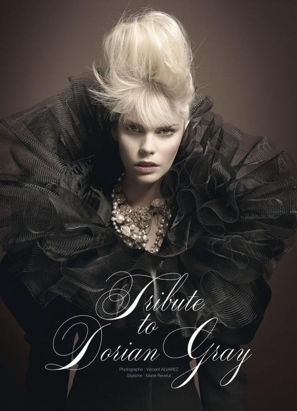 Gothic art fashion by Vincent Alvarez #fashion #photography #gothic #art