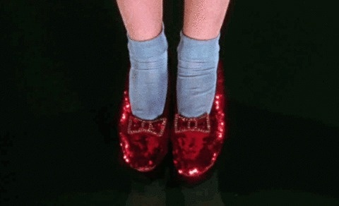 FFFFOUND! | †A.F.F.E.C.T.E.D .W.I.T.H .M.A.D.N.E.S.S #red #of #slippers #oz #ruby #wizard
