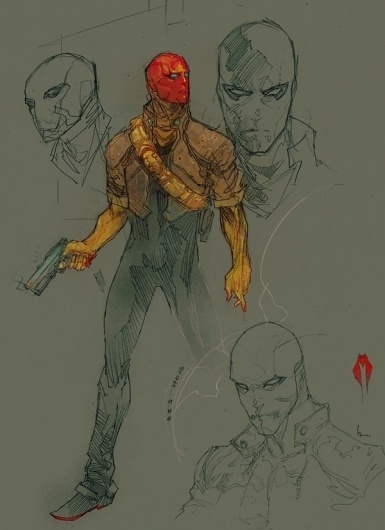Project : Rooftop #illustration #comics #red #hood